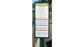 CHK America Awarded Customer Information Design Project for 8,500 Bus Stops for 'America's Transit System'