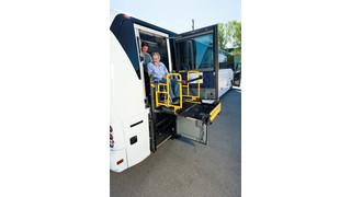 MCI unveils OEM wheelchair-lift retrofit installations; lock in 2011 rates