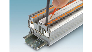 Phoenix Contact expands range of push-in terminal blocks