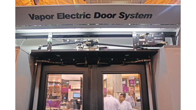 Electric Door Actuator Replaces Pneumatic System