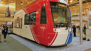 Siemens Builds Streetcars Upgradeable to Light Rail Operation