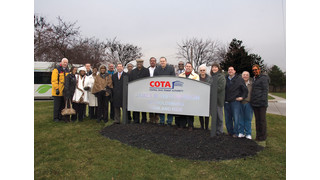 Employee Honored with COTA Facility Naming