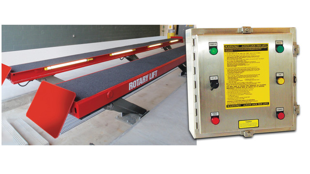Rotary Lift Introduces Certified Wash Bay Parallelogram Lift