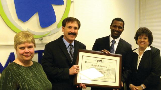 SORTA Honors Sizemore with Royal Coachman Award