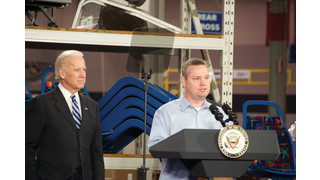 U.S. Vice President Joe Biden visits American Seating