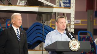 U.S. Vice President Joe Biden visits American Seating