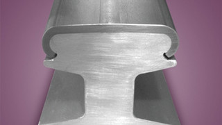 Stainless-Steel-Capped Rail