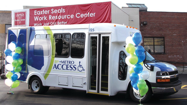 Access Transit Service For People With Disabilities Unveils New 'Metro' Design