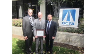 American Logistics Company Driver Receives Award from OCTA