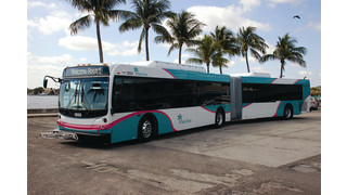 Palm Tran Articulated Buses in Service April 16