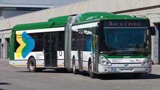 The STM and RTL to Road Test an Iveco Irisbus Hybrid Drive Articulated Bus