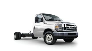 Ford E-450 Cutaway with Propane Autogas Fuel System