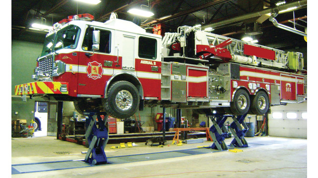 New Rotary Lift EFX90 Scissor Lift Raises Technician Productivity and Lowers Vehicle Downtime