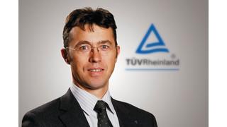 TÜV Rheinland Announces New Chief Regional Officer for North America
