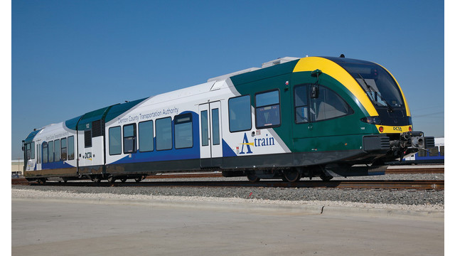 FRA Approves First Integrated Use of Stadler GTW Rail Vehicle for DCTA