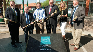 Valley Metro Commemorates the Start of Construction in Central Mesa