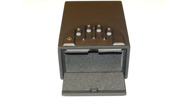 A Portable, Compact GunVault Mini Safe Goes Anywhere