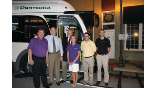 Proterra and City of Seneca. S.C. Showcase Zero-Emission All-Electric Transit System Plans