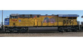 GE Transportation Celebrates 5,000th Evolution Series Locomotive