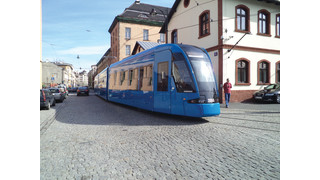 Bombardier Hands Over First Flexity Tram to MPK Kraków