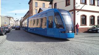 Bombardier Hands Over First Flexity Tram to MPK Kraków