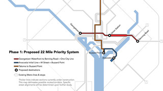 DC: DDOT Reveals Details from RFI Responses to 22-Mile Priority Streetcar System