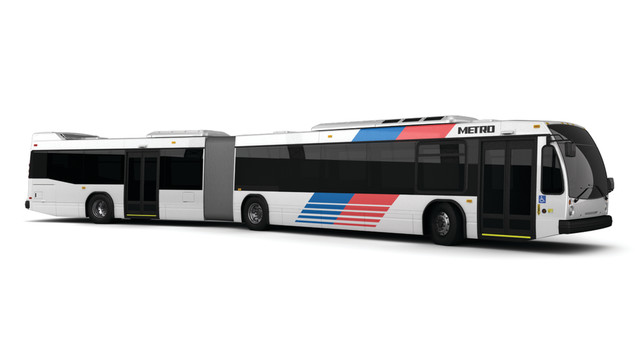 Nova LFS Artic Buses Head to Houston