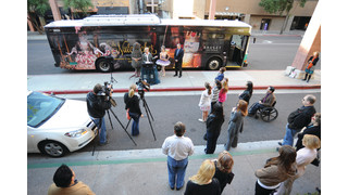 Nutcracker Holiday Bus Brings Cheer to Phoenix Streets