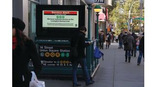Digital Displays in Transit Venues