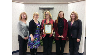 OH: Laketran Finance Team Accepts Award from State Auditor David Yost