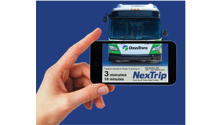 Omnitrans Launches NexTrip Real-Time Arrival Technology