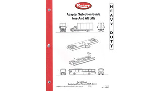 Rotary Lift Provides Guide to Finding the Right Heavy-Duty Lift Adapters