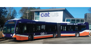 Nova Bus and CAT Roll Out First Articulated Bus in South Carolina