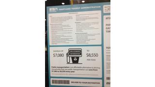 MD: MTA Displays Savings at Auto Show