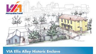 VIA Begins Work to Finish Rehabilitation of Ellis Alley
