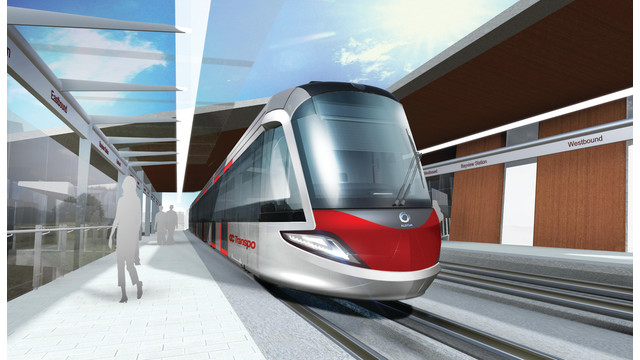 Alstom to Provide 34 Light Rail Vehicles and Maintenance Services for Ottawa