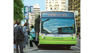 Nova Bus Receives Order for Hybrid Buses From Quebec