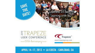 The 2013 Trapeze User Conference is Only One Month Away! Your Time to Register is Running Out!