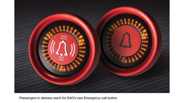 New Emergency-Call Pushbutton Further Enhances EAO's Award Winning Series 57