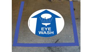 Floor Marking Tape Kit for Eye Wash Stations