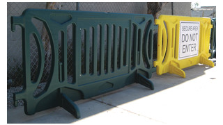 Heavy Duty Plastic Barricade