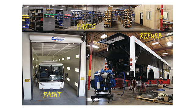 Bus Parts, Service, Refurbishment & Paint