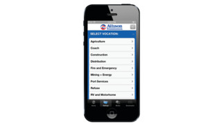 Allison Transmission Releases New iPhone/iPad App