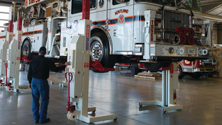 Stertil-Koni Research Identifies Seven Critical Steps to Safely Lifting Heavy Duty Work Vehicles in Maintenance Facilities