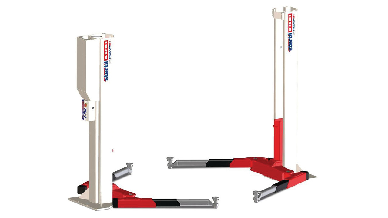 Heavy Duty Pneumatic Lift Arms : Stertil koni introduces freedom lift new heavy duty