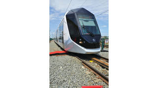 First Citadis for Dubai Presented at Alstom's La Rochelle Plant