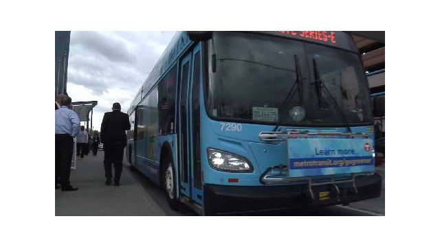 Cleanest Hybrid Bus in the USA