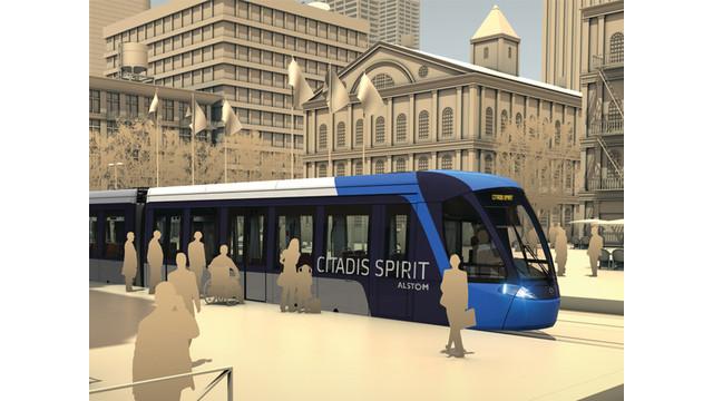 Alstom Unveils Citadis Spirit Light Rail Vehicle