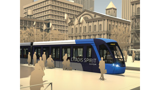 Alstom Unveils Citadis Spirit Light Rail Vehicle