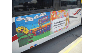 TX: Winning Student Art Now Rolling Through Fort Worth on The T Buses